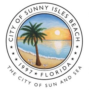 Official Sunny Isles Beach City Seal