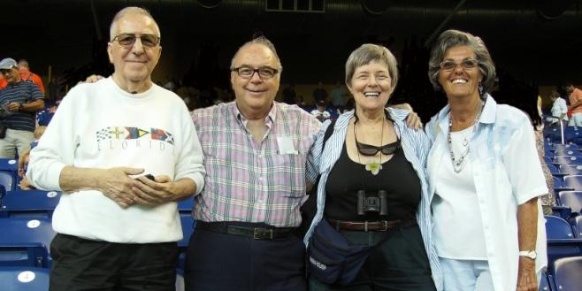 SIB Senior Citizens post at Miami Marlins Game.