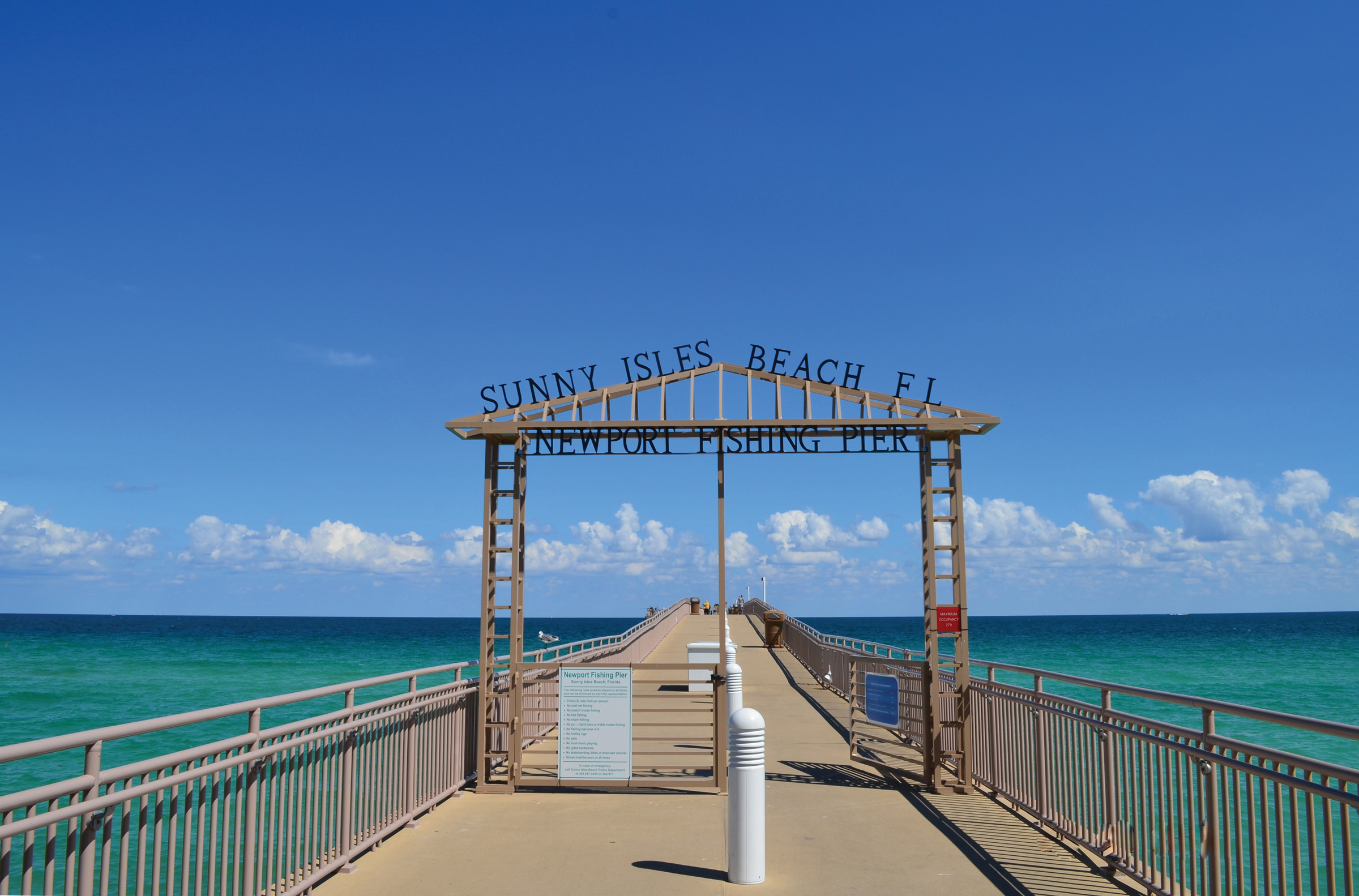 Newport Fishing Pier Reelished As A Destination City Of Sunny Isles Beach