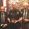 """Marrow Donating Officer,  Becomes Recipient of the Borrell Family Award…"""