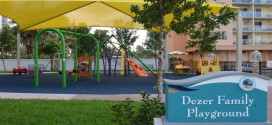 The playground at Intracoastal Park.
