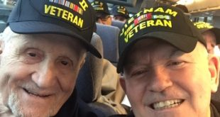 SIB WWII Veteran Resident takes Honor Flight to Washington, D.C.