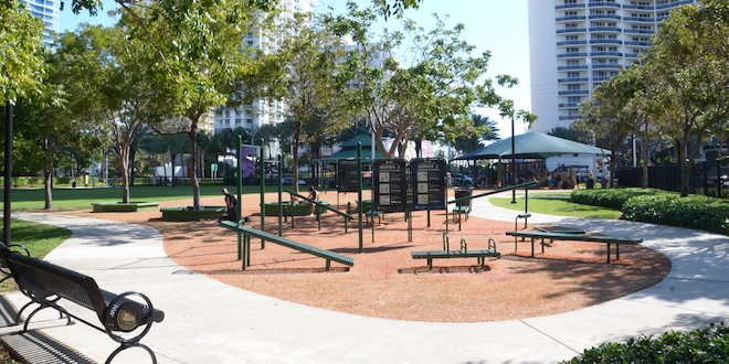 Photo: Exercise Area at Town Center Park
