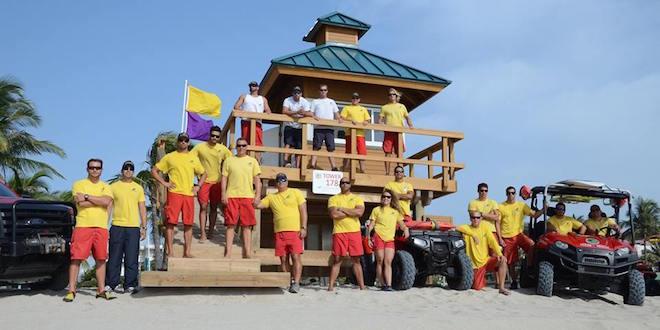 Photo: Group photo of Sunny Isles Beach Life Guards