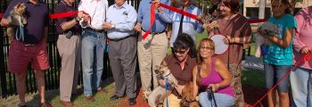 Bone Zone Dog Park Opens