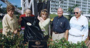 Photo of the opening of Senator Gwen Margolis Park.