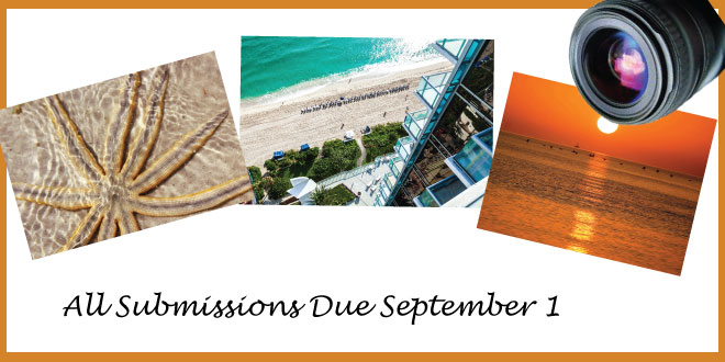 Image announcing the Annual Photo Contest Submission deadline is September 1.