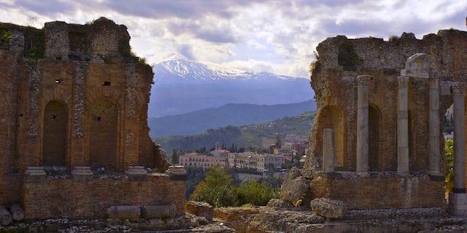 Photo of Sister City, Taormina, Italy.