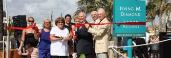 Irving Diamond Beach Access Dedication