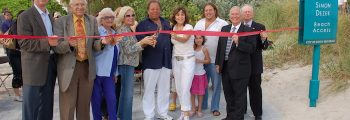 Simon Dezer Beach Access Dedication