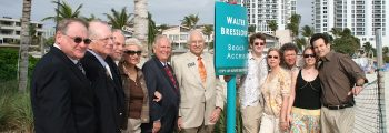 Walter Bresslour Beach Access Dedication