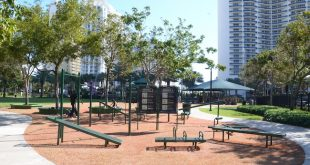 Adult Fitness Equipment installed at Town Center Park