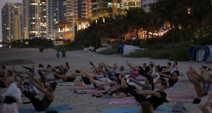 FREE Full Moon Yoga Class on the Beach in Sunny Isles Beach