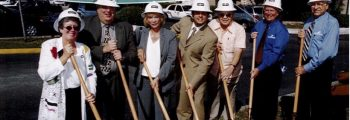 Groundbreaking for Tony Roma's Restaurant & New City Hall