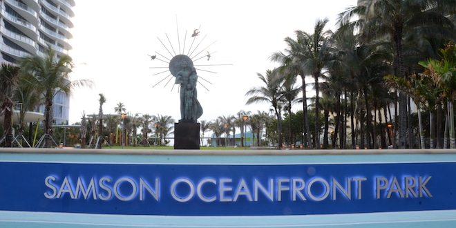 Photo: Samson Oceanfront Park Sign
