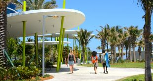 New structure at Samson Oceanfront Park