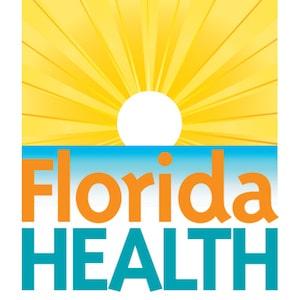 Florida Department of Health logo.