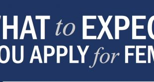 "Graphic that says ""What to Expect When You Apply for FEMA Aid."""