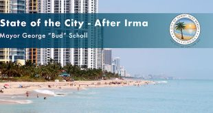 "State of the City - after Irma by Mayor George ""Bud"" Scholl"