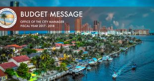 Budget Message for Fiscal Year 2017 - 2018 - Office of the City manager