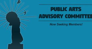 Public Arts Advisory Committee announcing that they are now seeking members.
