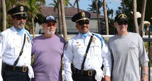 SIB Veterans posing with SIB Police Officers