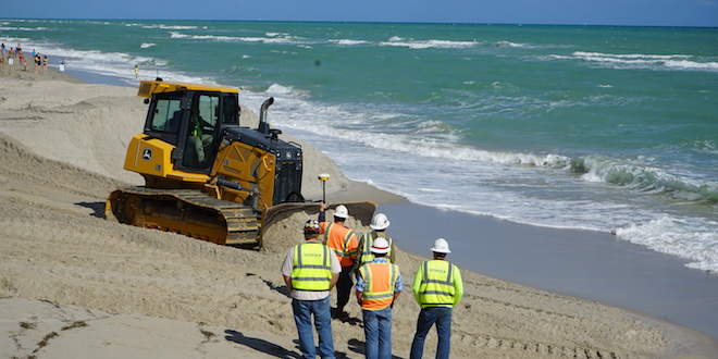 Beach Sand Renourishment Project Update