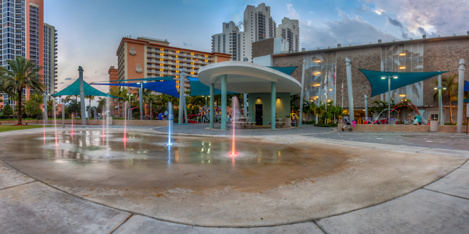 Heritage park city of sunny isles beach - The garden place at heritage park ...