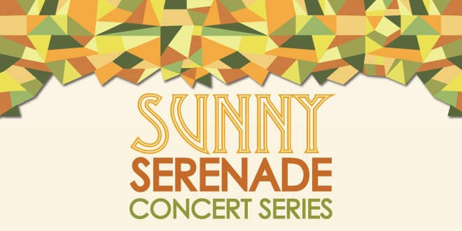 Sunny Serenade Concert Series Graphic