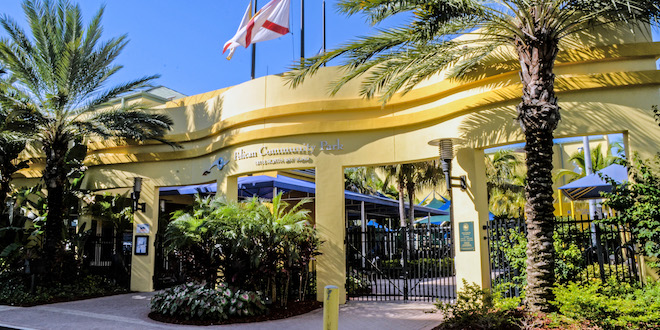 Photo: Pelican Community Park Entrance