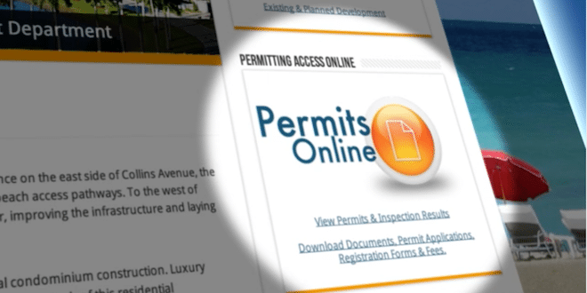 Building Permits online portal - Smart Gov.
