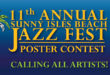 Sunny Isles Beach Jazz Fest Poster Contest. Calling all artists!