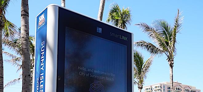Interactive Kiosk at Samson Oceanfront Park