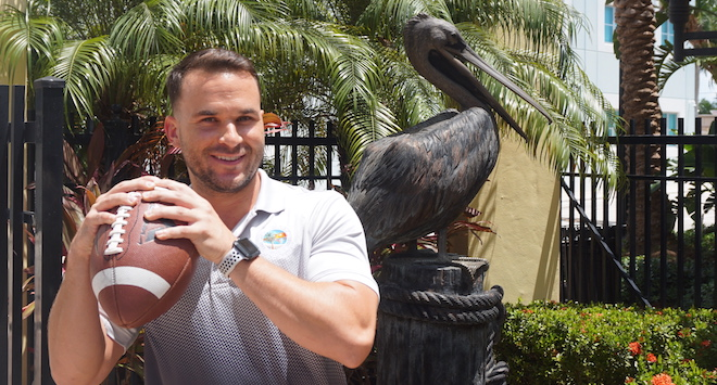 Nick Rakestraw, Athletic Programs Coordinator