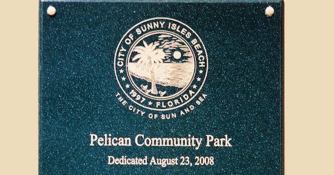 PCP Dedication Plaque