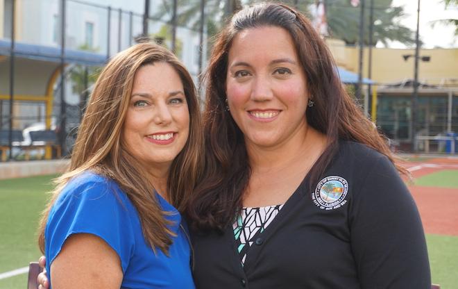 Susan Simpson & Sylvia Flores