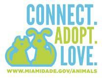 Connect, adopt love. miamidade.gov/animals