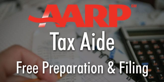 AARP Tax Aide Free Preparation & Filing