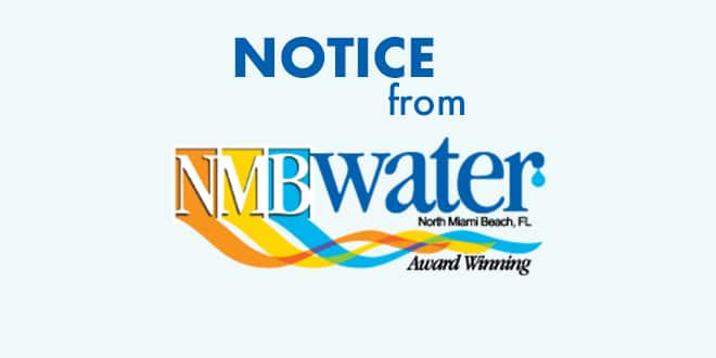 Notice from NMB Water