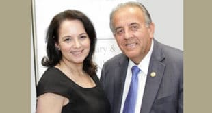 Commissioners Jeanette Gatto and Isaac Aelion