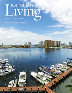 Cover of Sunny Isles Beach Living Magazine