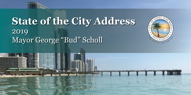"State of the City Address 2019 - Mayor George ""Bud"" Scholl"