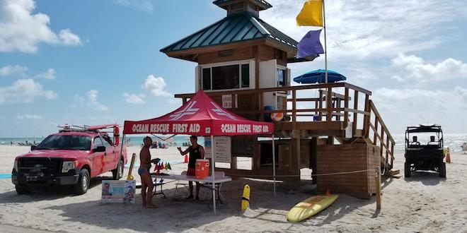 Ocean Rescue Lifeguard Stand