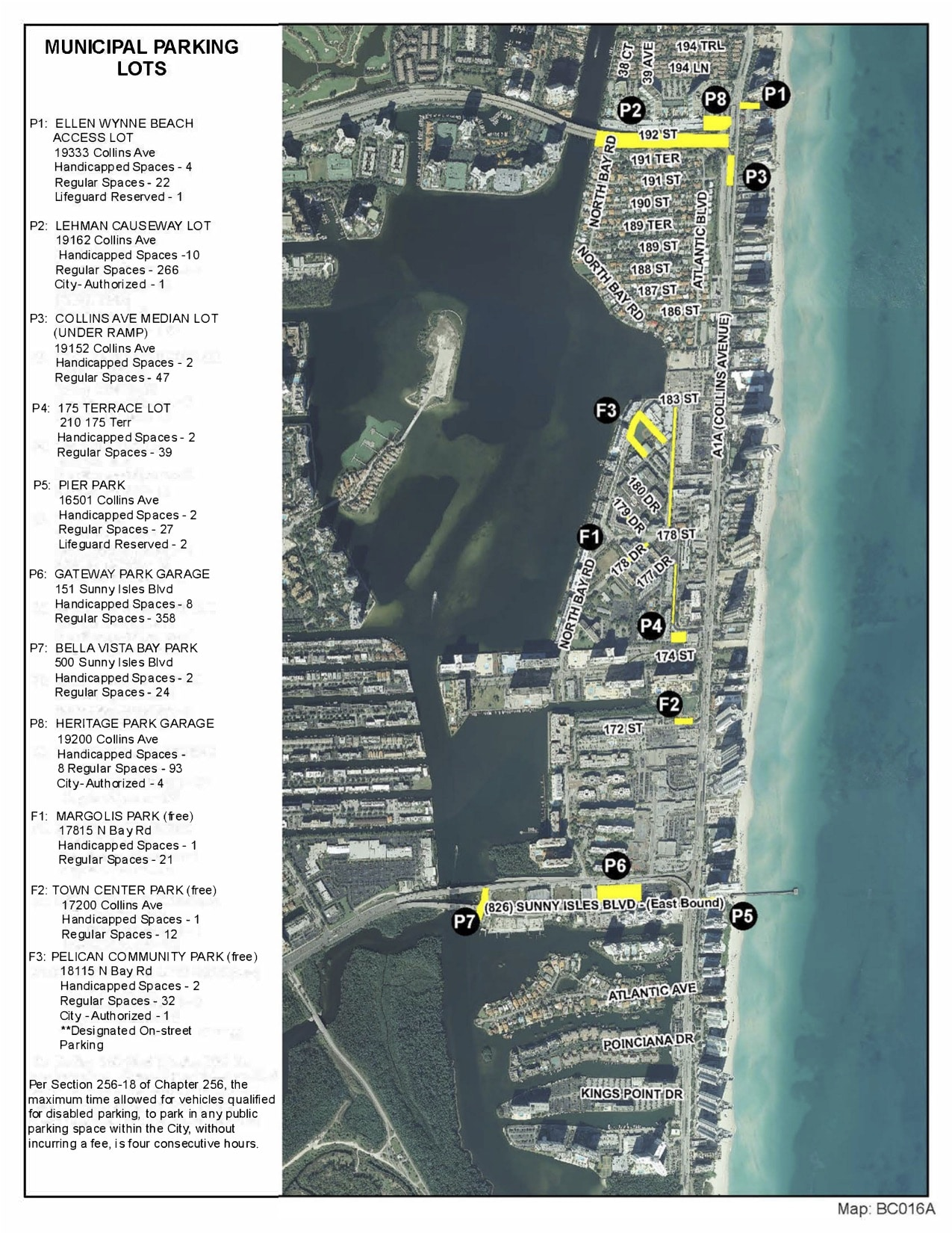 parking - city of sunny isles beach