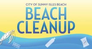 City of Sunny Isles Beach Beach Cleanup