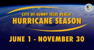 City of Sunny Isles Beach Hurricane Season: June 1 - November 30