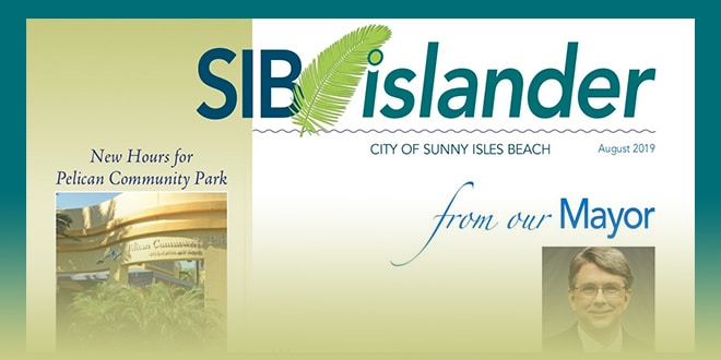 Cover of SIB Islander August 2019