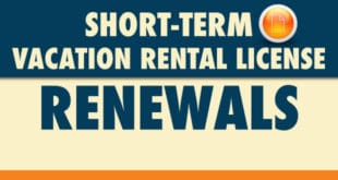 Short-Term Vacation Rental License Renewals