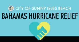 City of Sunny Isles Beach Bahamas Hurricane Relief
