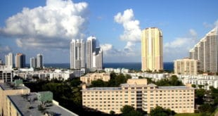 View of Sunny Isles Beach